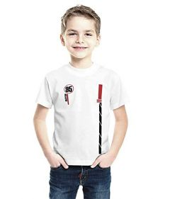 Half-Sleeves Round Neck T-Shirts in Printed Style Regular Fit for Kids (Pack of 1)