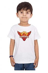 SRH Printed T-Shirts Round Neck Half-Sleeves Regular Fit for Kids (Pack of 1)