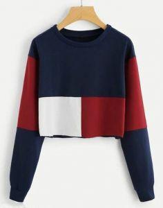 Cotton Fabric Regular Length Printed Round Neck Tshirt For Womens
