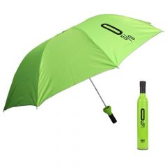 Kushahu Ultra Umbrella Double Layer Folding Portable Umbrellas with Bottle Cover for UV Protection & Rain   for Men and Women