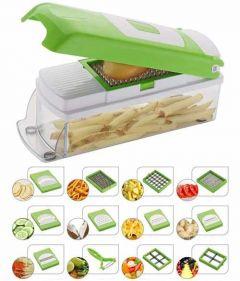 VRENTERPRISE Fruit Vegetable Multi-Purpose Chopper Chipser Slicer and Grater (Pack of 1)