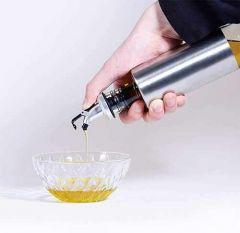 VRENTERPRISE Cruet Set Oil, Vinegar Dispenser (500ML) (Pack of 1)