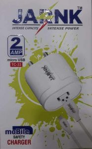 Jarnk 2 Amp Fast Charger Suitable for Mobile (Pack of 1)