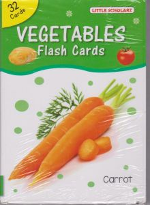 VEGETABLE FLASH CARDS (Pack of 32 Cards)