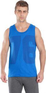 JOCKEY Regular Fit Sleeveless Vest For Men's (Blue) (Pack of 1)