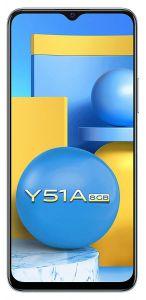 Vivo Y51A (8GB, 128GB Storage) | 48 MP Rear Camera