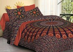 VINODTRADERS Elite Versatile Stylish Bedsheets | Pack of 1