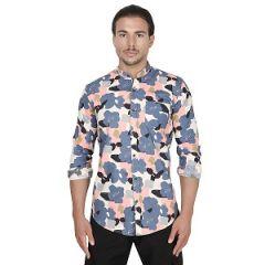 Casual Wear Printed Full Sleeve Smart Fit Men Shirt