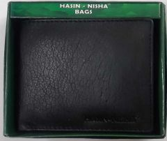 Artificial Leather Wallet with 8 Card Slot for Mens (Color:- Black)