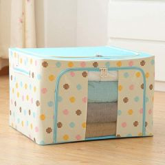 Homeoculture Living Storage Boxes For Clothes | Comforters Blankets Garment Bedding Box66 Litre