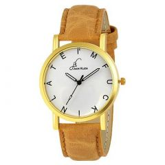 Stylish and Elegant Premium Quality Golden Case Formal Wrist Watch For Men's