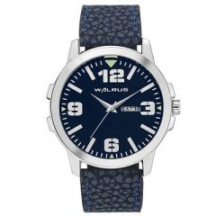 WALRUS Designer and Stylish Analog Watch With Synthetic For Men's (Blue) (Pack of 1)
