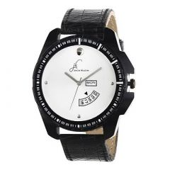 Fashionable and Stylish Watch With Day & Date Working Multi-Function For Men's (Black) (Pack of 1)