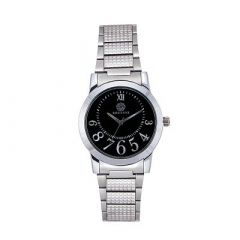 Stylish and Trendy Stainless Steel Strap Analog Watch For Men's (Silver) (Pack of 1)