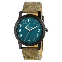 Elegant, Stylish and Trendy Premium Quality Green Dial Wrist Watch For Men's