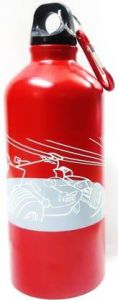 Suvayushna 500 ml Sipper Bottle Sipper  (Pack of 1) (Color:- Red) (Material:- Steel)