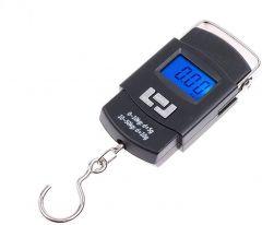 Digital Portable Hook Type Weighing Scale (Maximum Capacity 50 kg, Multicolor)