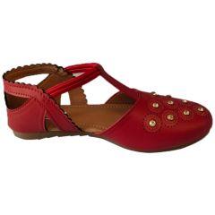 Bantu Women's Fashion & Stylish Casual Sandal (Red)