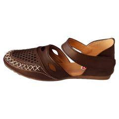Footshine Bantu Women's Fashion & Stylish Casual Sandal (Chocolate)