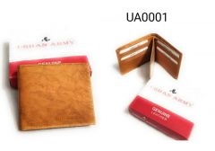 Stylish Leather Wallet|Card Holder & Coin Purse With New Design For Men (Tan)