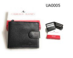 Stylish Leather Wallet|Card Holder & Coin Purse With New Design For Men-Pack of 1 (Black)