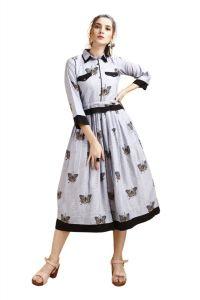 WESTERN Stylish Printed Dress For Women