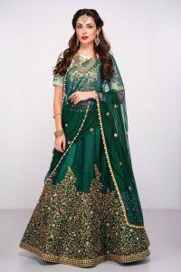 Heavy Bridal Lehanga Choli