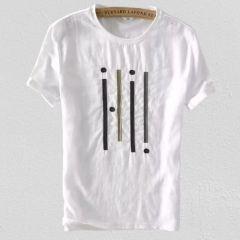 Marvel Trendy Cotton Stylish Men's Printed T-shirts Vol 9 (White)