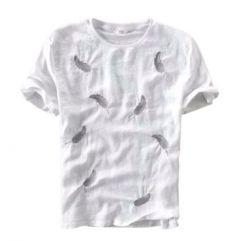 Marvel Trendy Men's Printed Stylish Cotton T-Shirts (White)