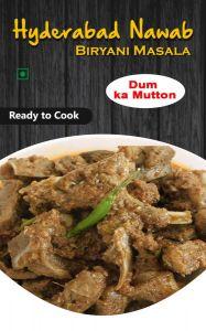 Hyderabad Nawab Biryani for Delicious Tastes & Aroma Masala Dum Ka Mutton (Pack of 1)