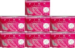 Pink International sanitary Napkin 280 MM (XL) Regular Mirror 7 Combo Pack