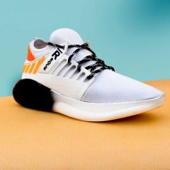 Maarsfootwear Raysfield Comfortable Training & Running Casual Shoes For Men's (White)