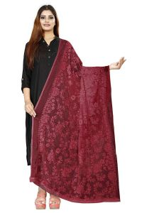 Avni N Anvi Womens Nazmeen With Heavy Embroidery Full Work Designer Ethnic Dupattas |Pack of 1