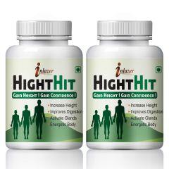 Height Hit herbal capsules for increases bone mass 100% Ayurvedic (Pack of 2)