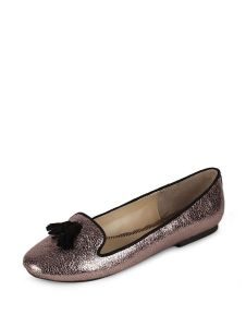 Sakhicollection Women's PU Loafers- ASS1411 (Grey)