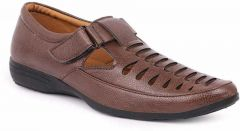 MOSHTO Men's Formal/Casual Loafer/Sandals - Brown