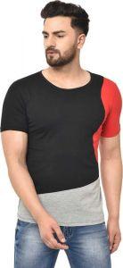 Boys Stylish & Fashionable Round Neck Multicolor T-Shirt (Pack of 1)