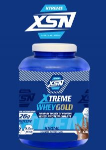 XTREME Whey Gold | Premium Source Of Protein Sports Nutrition (2.27 Kg) (Cappuccino Flavour) (Supplement)