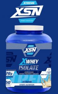 XTREME Whey Isolate Protein 28 Gram | Energy 122.50 kcal | Sports Nutrition (Vanilla Chocolate Flavour Supplement)