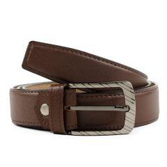 Winsome Deal Leather Formal Brown Belt For Men's (Pack of 1)