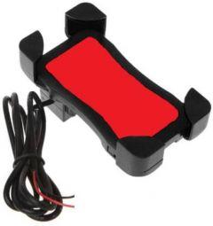 YadavEnterprises Plastic Bike Mobile Holder (Pack of 1)   (Black)