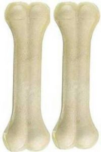 YadavEnterprises 4 Inch Calcium Bone For Dogs Good Health Dog Chew (0.26 Kg) | (Pack Of 2)