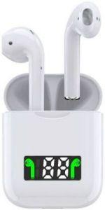 YadavEnterprises Wireless I99 Digital Charging Bluetooth Headset (White)   (True Wireless)