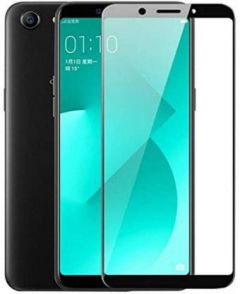 YadavEnterprises Ideal & Strong Edge To Edge Strong Tempered Glass for Oppo A71 (Black)