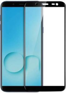 YadavEnterprises Ideal & Strong Edge To Edge Strong Tempered Glass for Samsung Galaxy On8 (Black)