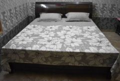 YadavEnterprises 450 TC Cotton, Polyester Double King, Double Geometric Bedsheet (Pack of 1)-YDV-MIN-14