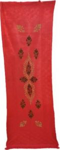 YadavEnterprises Stylish & Fashionable Wool Embroidered Shawl Ideal For Women (Pack of 1) | (Red)