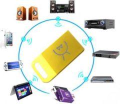 YadavEnterprises 20M Ultra-Mini Bluetooth CSR 4.0 Dongle USB Adapter (GOLDEN) | (Pack of 1)