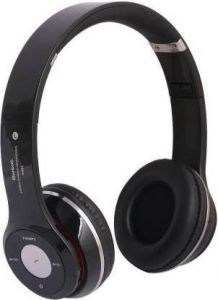 YadavEnterprises Sports Wireless Neckband Bluetooth Headphone over the head Bluetooth Headset (Black)   (True Wireless)