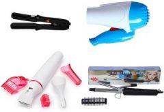YadavEnterprises Dhamaka Combo of NVA Styler with Trimmer Personal Care Appliance Combo (Hair Straightener, Hair Dryer, Hair Curler, Trimmer)